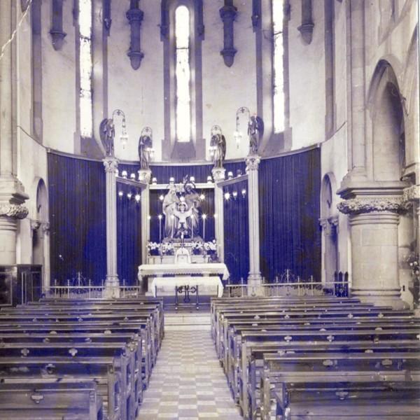 Interior abans riuada 1971